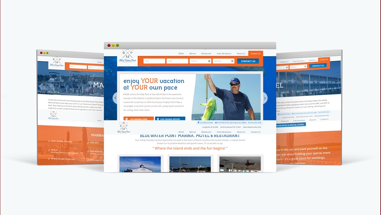 Blue Water Point provides users with a complete site upgrade