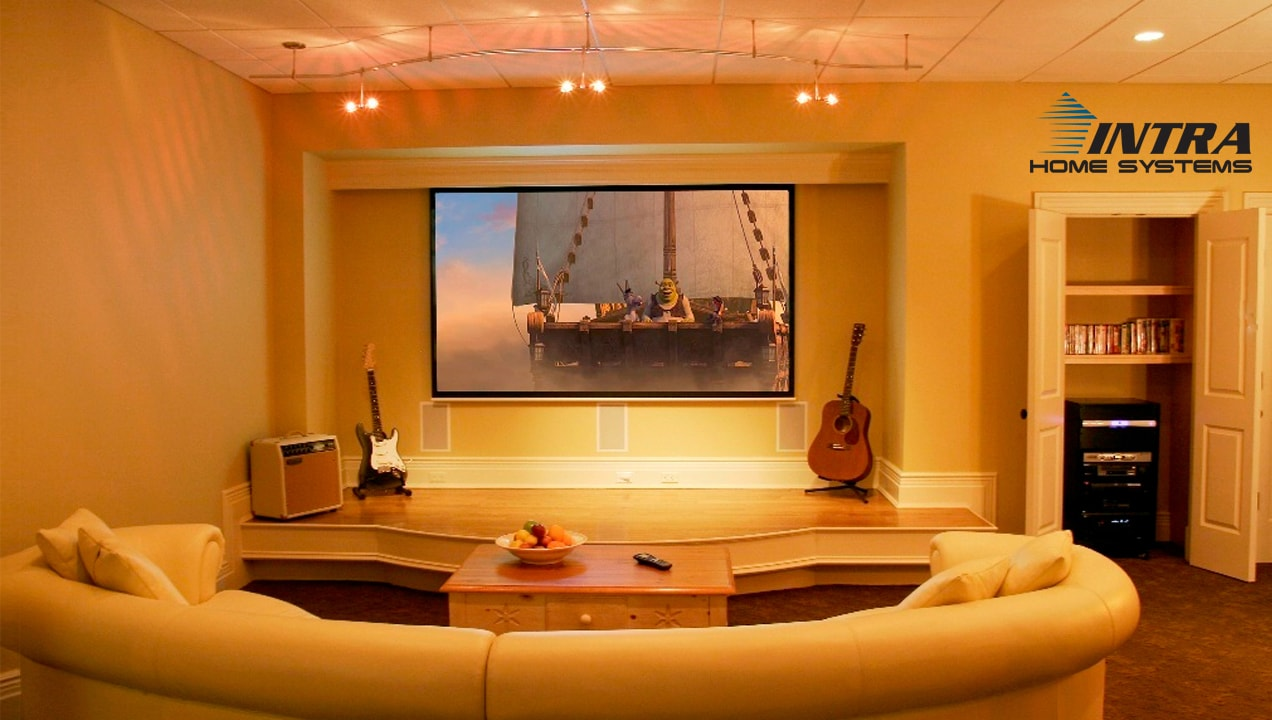 Intra Home Systems integrated entertainment system