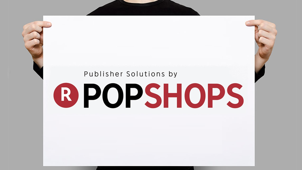PopShops sharp logo design