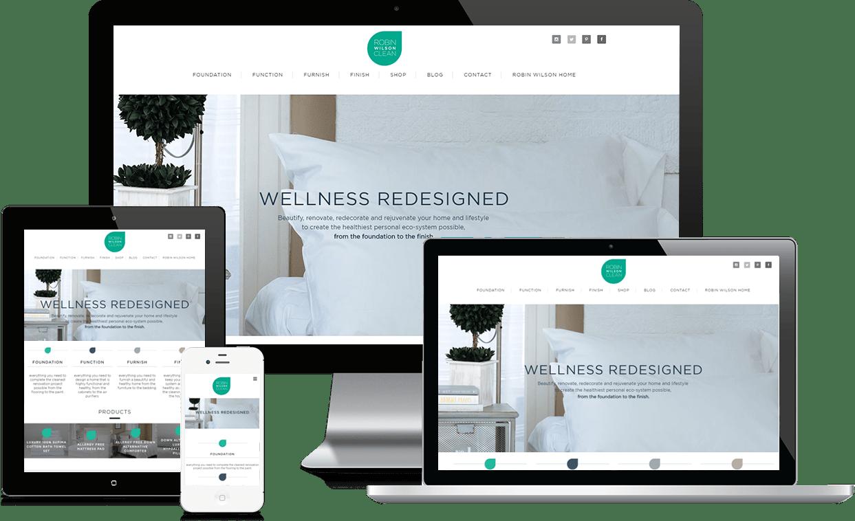 Robin Wilson Clean Interior Designer Website SS NJ