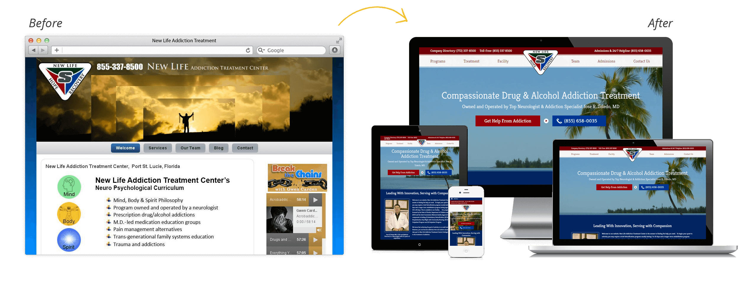 New Life Addiction Treatment