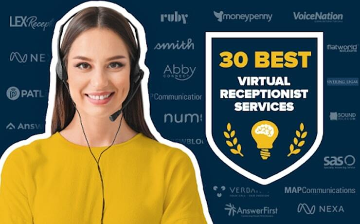 30 Best Virtual Receptionist Services for Small Businesses