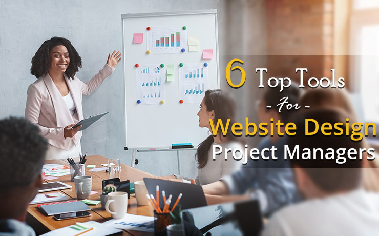 top tools for website design project managers