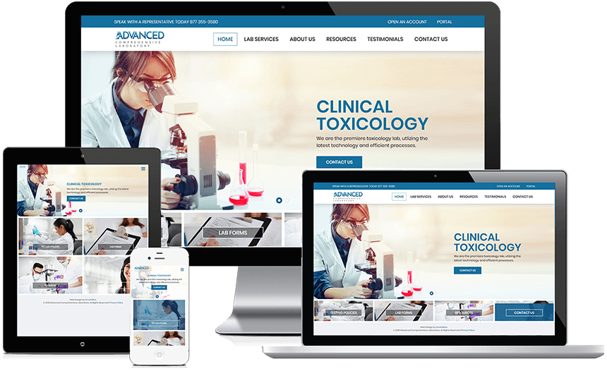 Advanced Comprehensive Laboratory Gets A Site Redesign!