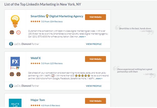 B2B LinkedIn Marketing Agency