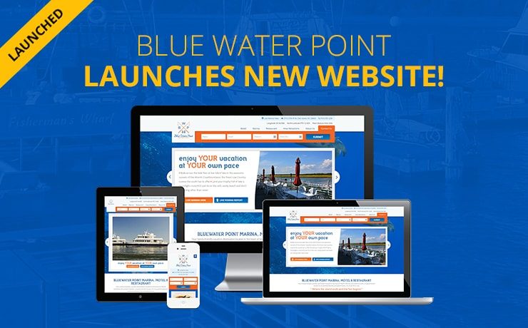'Blue Water Point' Motel, Marina, & Resort Sets Sail with Fresh Website Design!