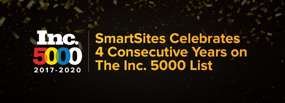 SmartSites Makes Inc. 5000 List For The 4th Consecutive Year
