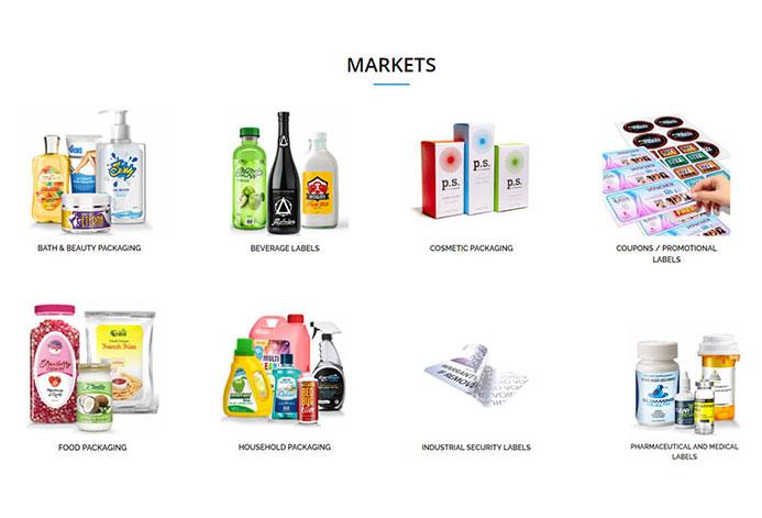 Hampshire Labels Custom Labels Website