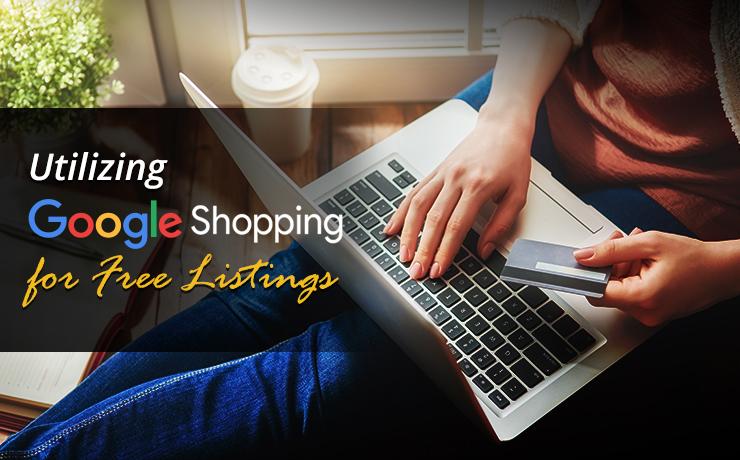 Google Shopping free listings