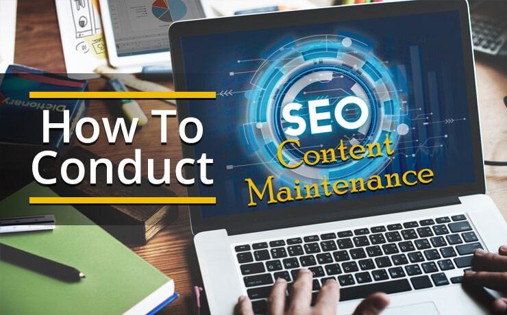 SEO content maintenance