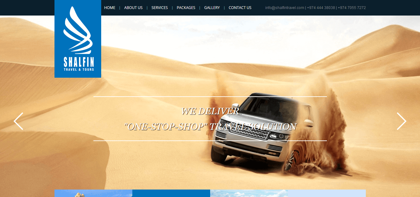 travel website inspiration
