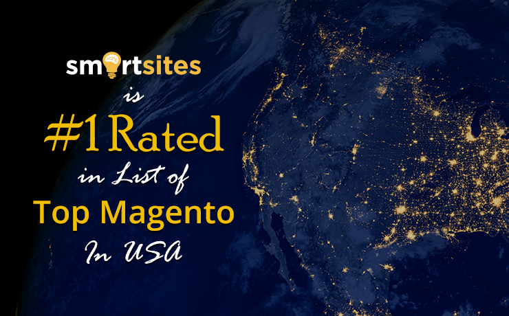 SmartSites Is #1 Rated in List of Top Magento Developers In USA