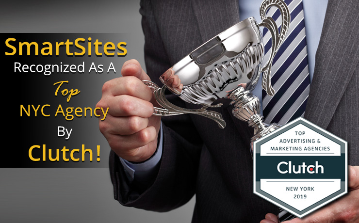 SmartSites Recognized as a Top NYC Agency by Clutch! - SmartSites