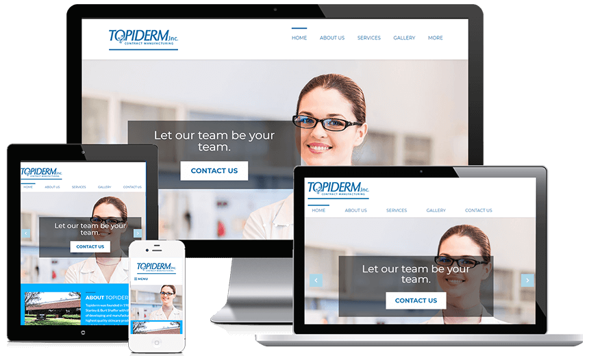 Topiderm Advertises Skincare Product Manufacturing Effortlessly With A Brand New Website