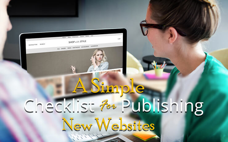 publishing new websites