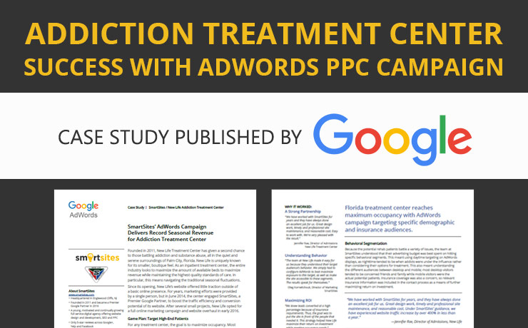 Rehab Center Finds Success with AdWords PPC Campaign