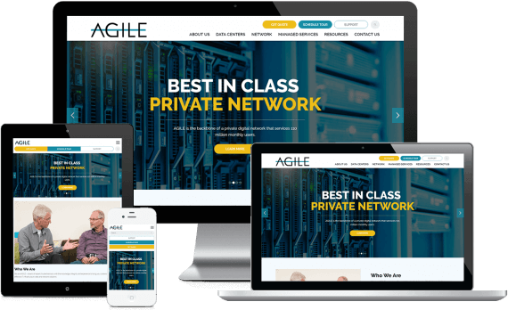 Agile Data Sites Web Design Business to Business