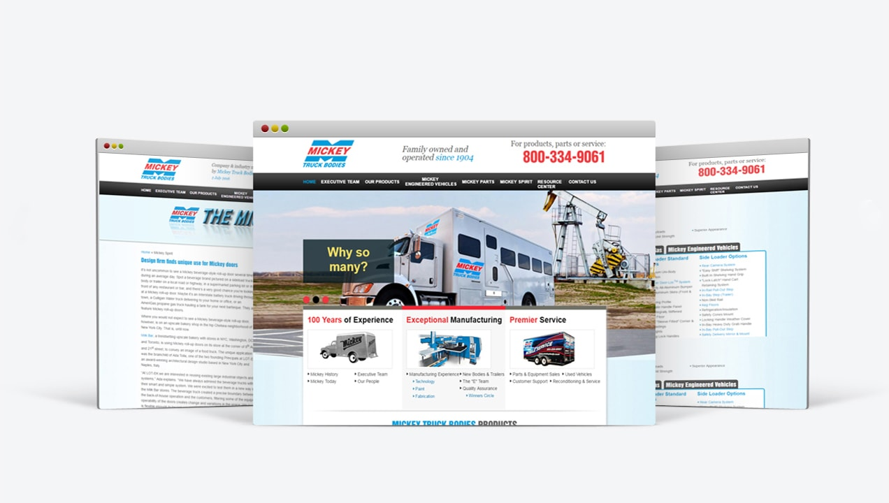 Analytics Integrated Site Mickey Truck