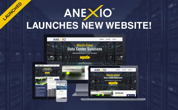 ANEXIO Launches Into the Future with a New Website!