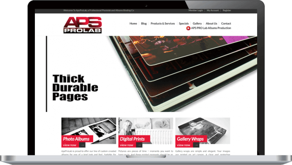 APS Prolab Web Design Business to Business