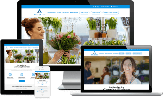 Arcarius Web Design Business to Business