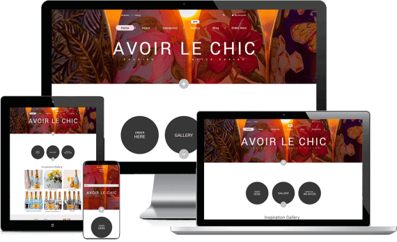 Avoir Le Chic Web Design Retail