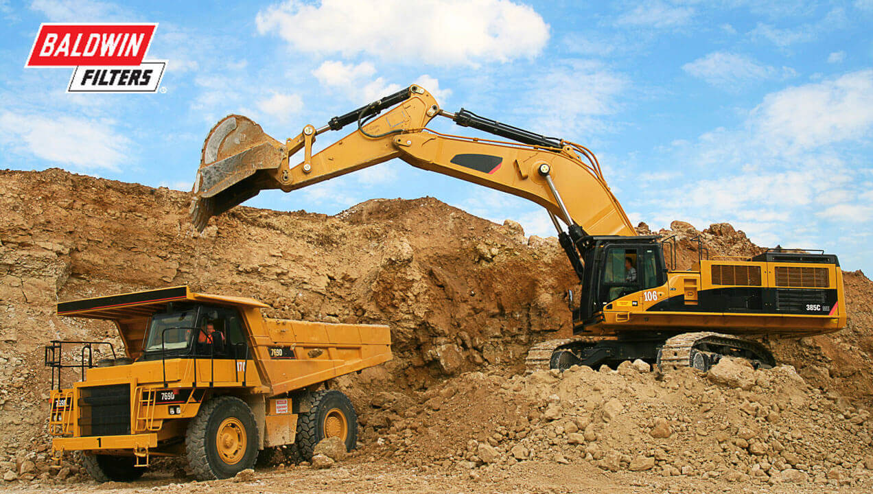 Baldwin Filter excavator