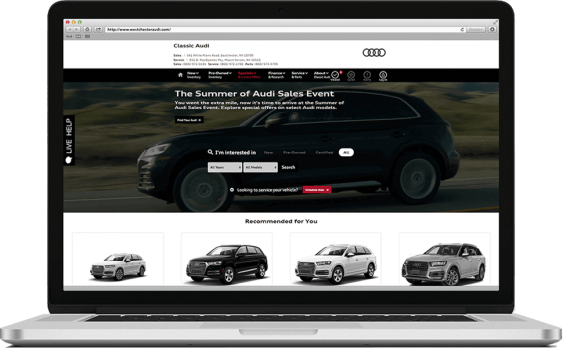 Classic Audi PPC Marketing Paid Search