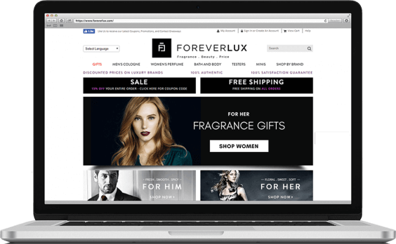 ForeverLux PPC Marketing Paid Search