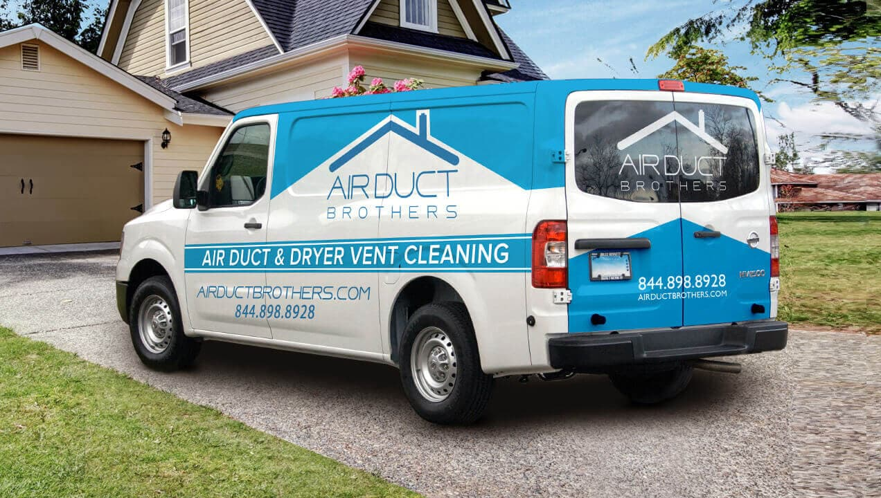 Air Duct Brothers Duct Cleaning Services van