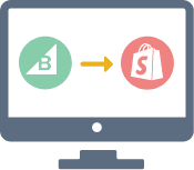 Bigcommerce to Shopify Migration icon