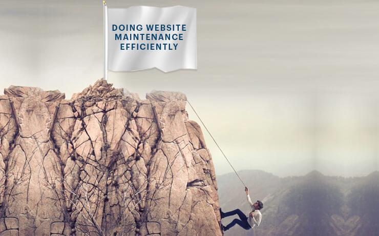 biggest challenge of website maintenance