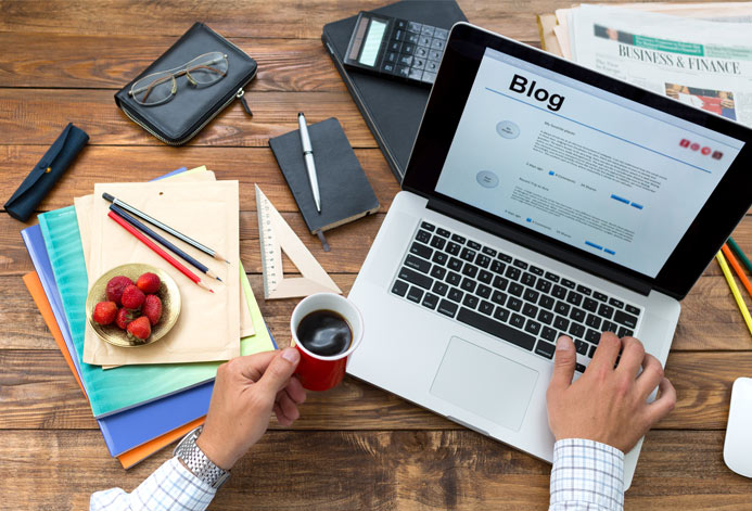 Blog content written by experienced writers
