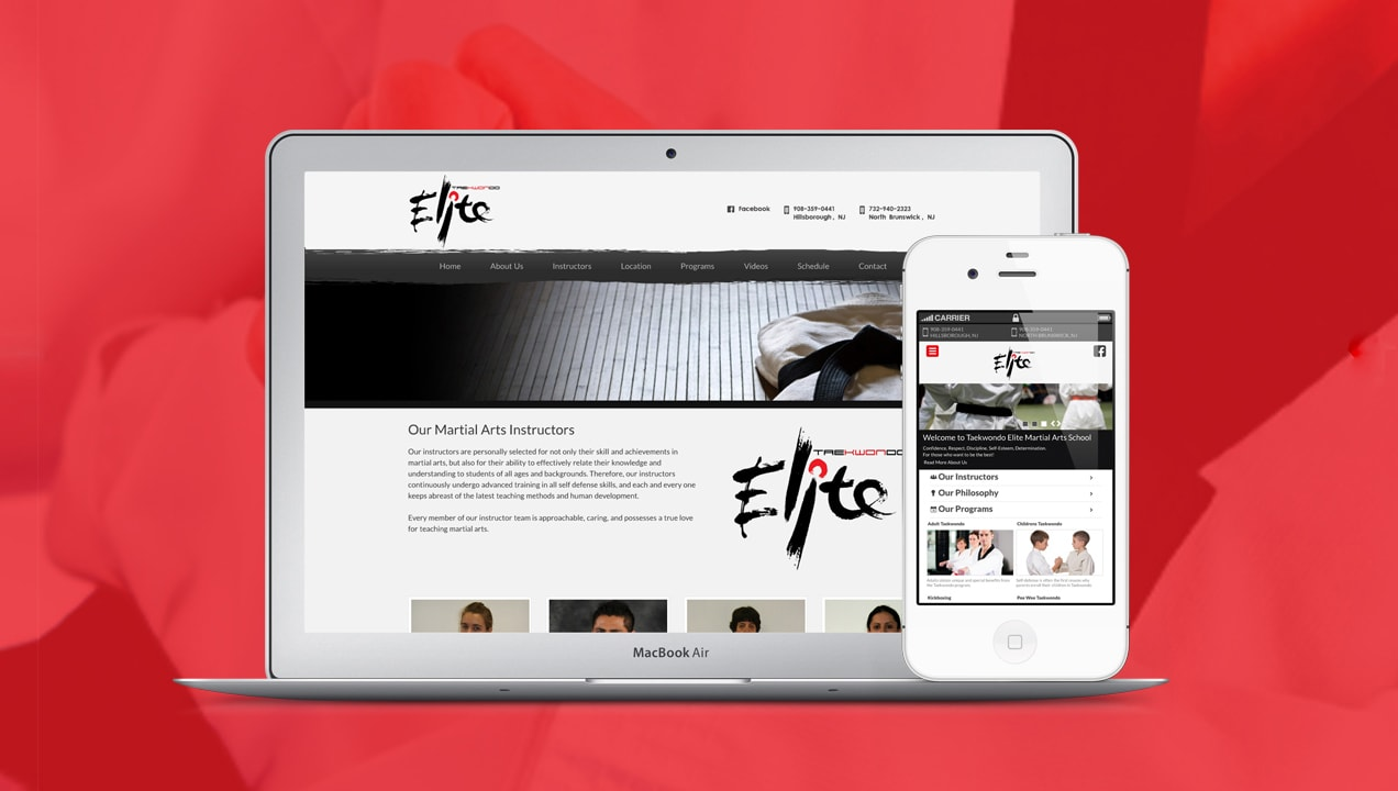 Bright Desktop Design Taekwondo Elite