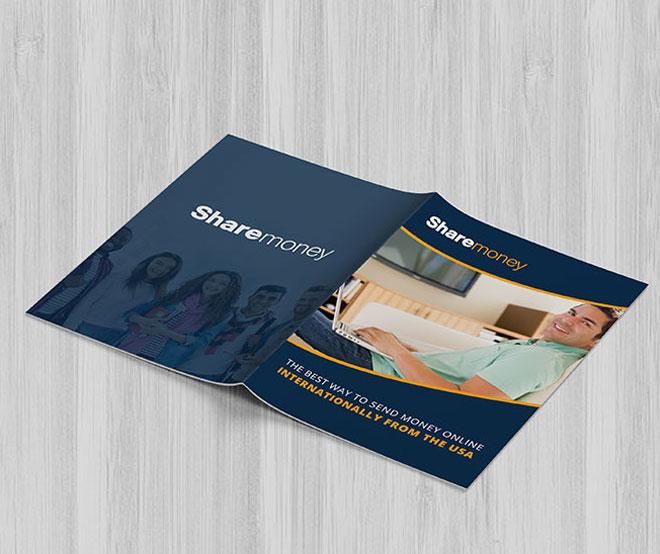 Brochures Design For Sharemoney