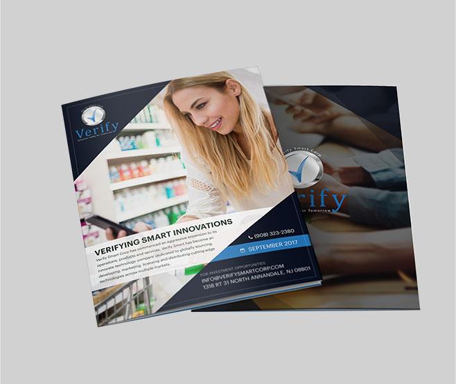 Brochures Design For Verify