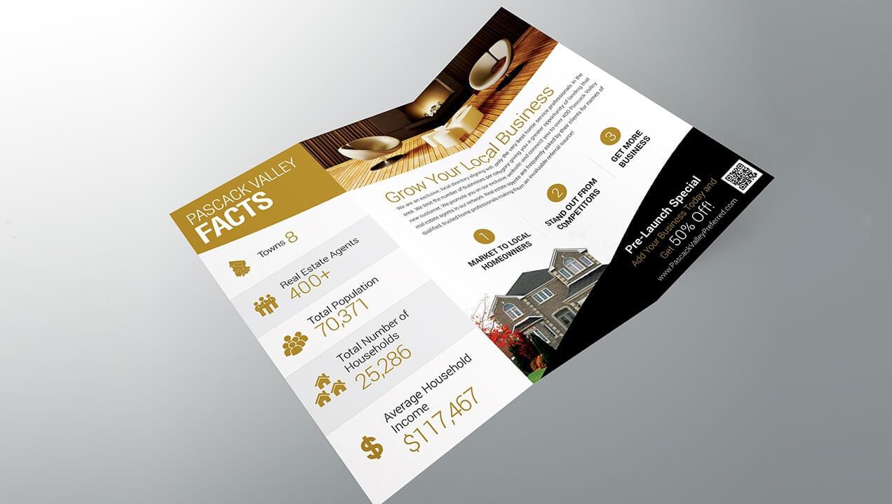 Pascack Valley Home Services brochure design