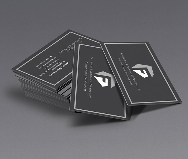 Business Cards & Stationary For Custom Home Deveopment
