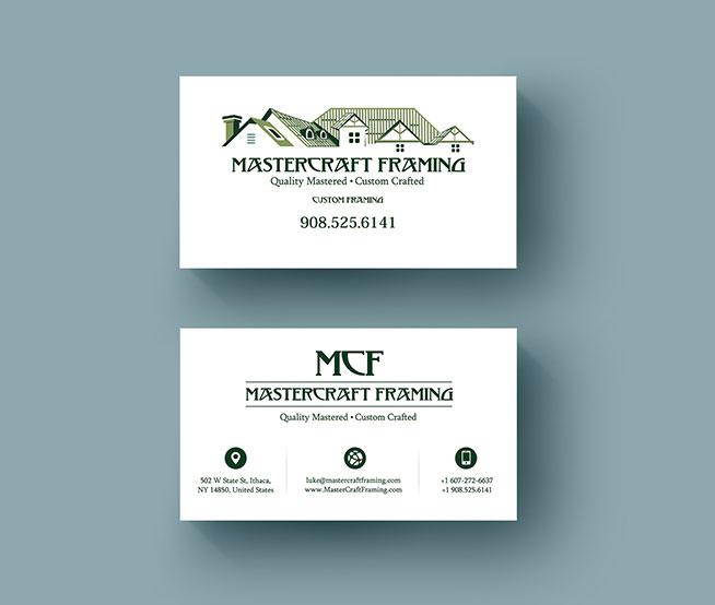 Business Cards & Stationary For Mastercraft Farming