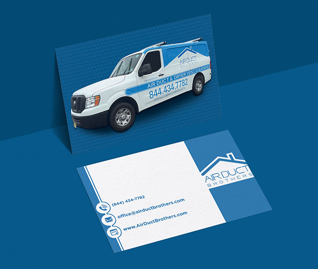 Business Cards & Stationary For Air Duct