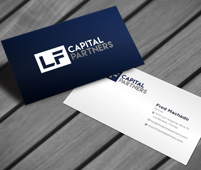 Business Cards & Stationary For Capital Partners