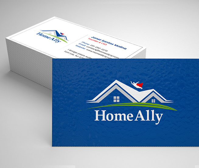 Business Cards & Stationary For Homeally