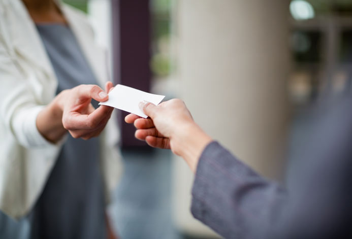 Business Cards Creates Impression On People