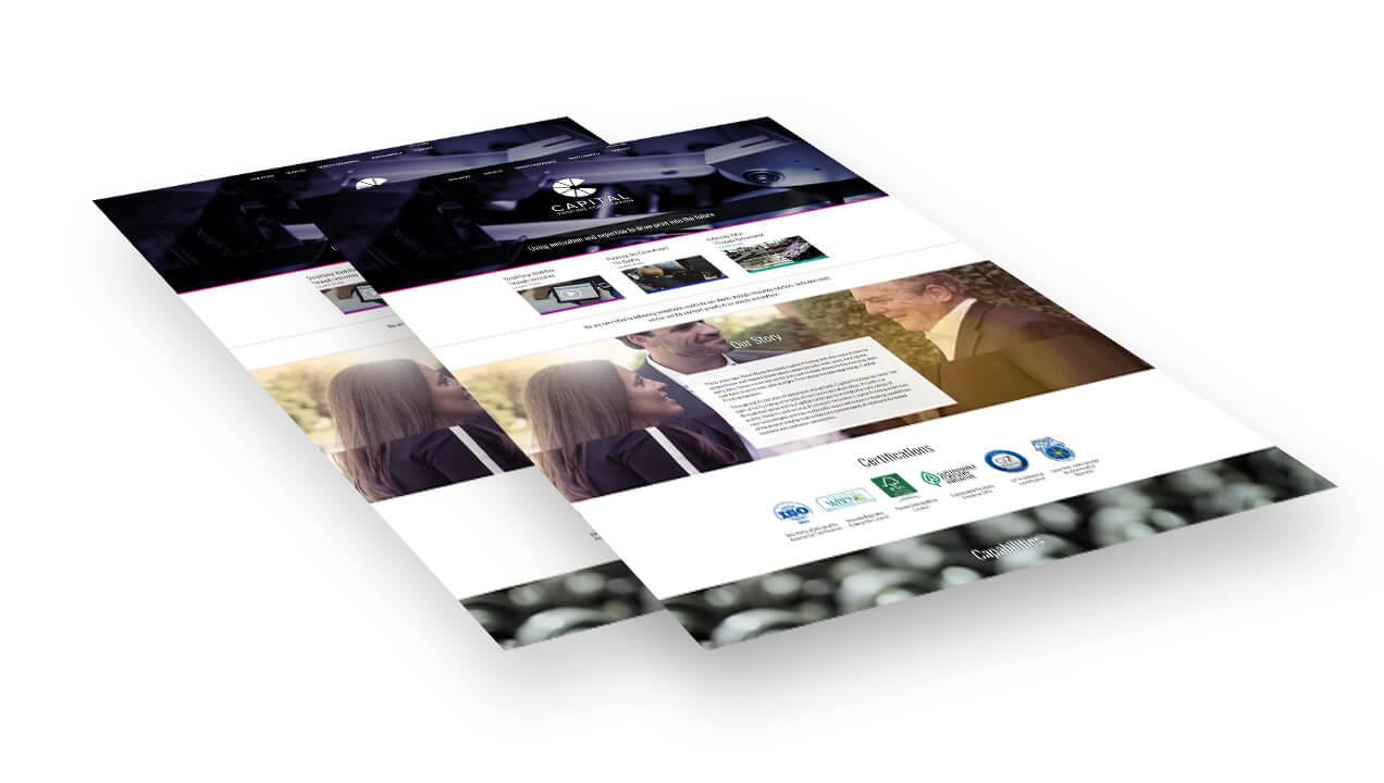Capital Printing Homepage