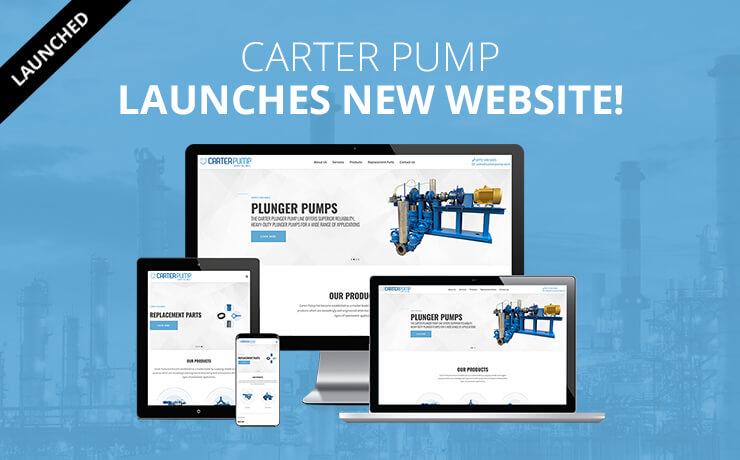 Carter Pump launches new website
