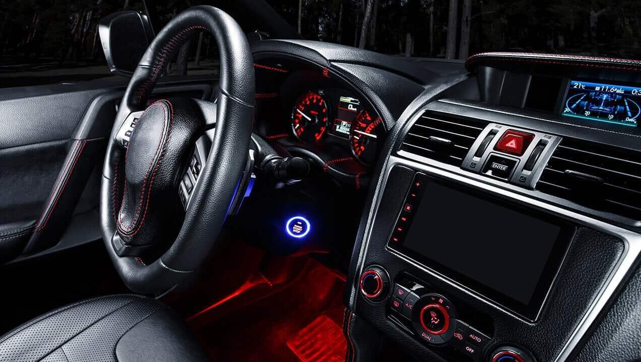 Classic Audi car interior image