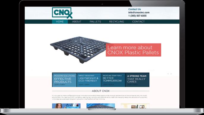 Custom website design for plastics manufacturing