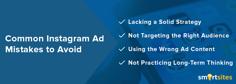 Common Instagram Ad Mistakes to Avoid
