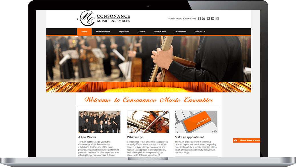 Consonance Music Ensembles