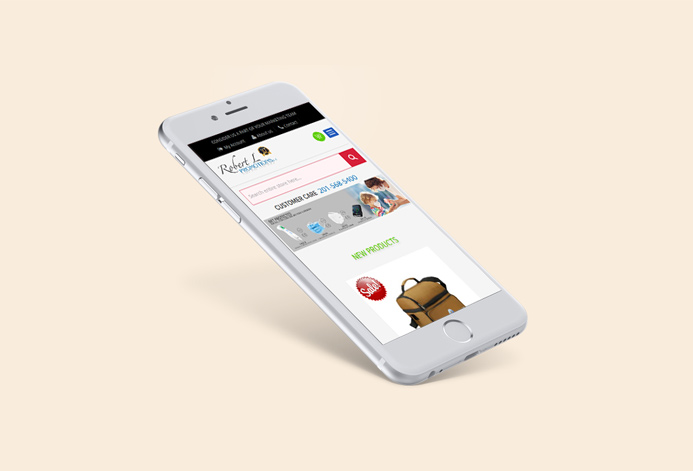 Robert L Promotions Custom Branding Services Ecommerce Website